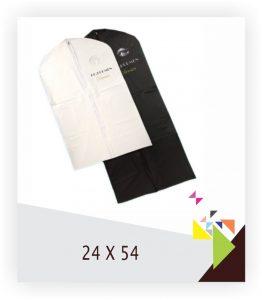 Vinyl Suit Bags 24x54